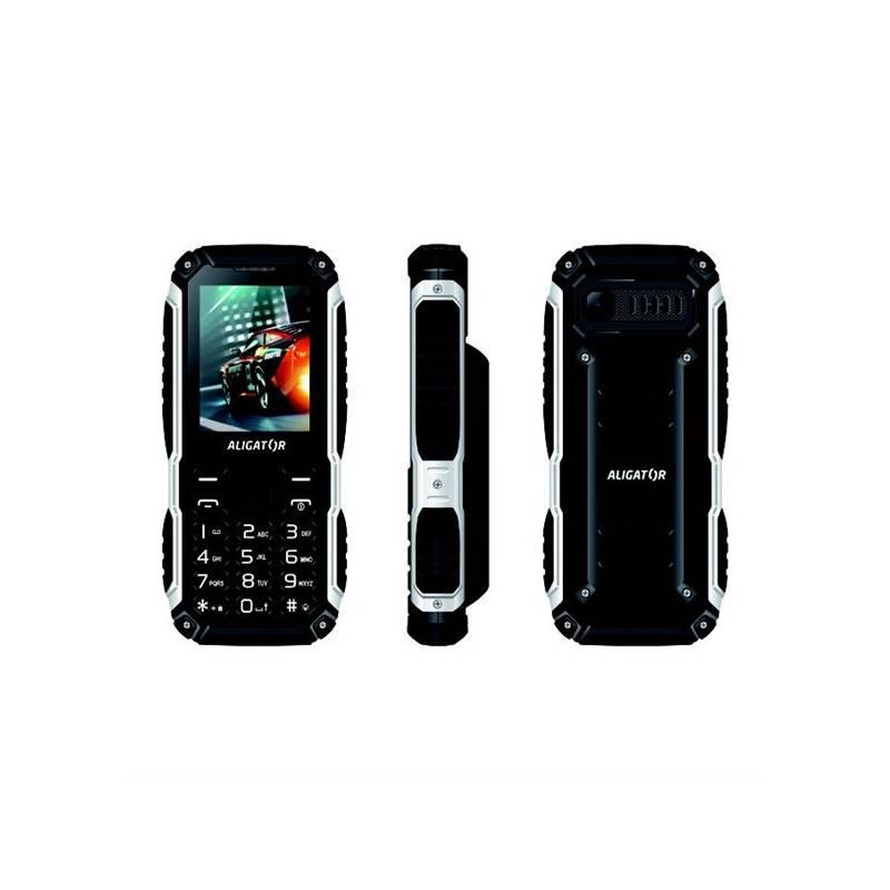 Mobilný telefón Aligator R30 eXtremo (AR30BB) čierny