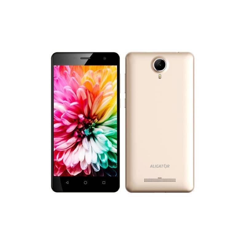 Mobilný telefón Aligator S5062 Dual SIM (AS5062GD) zlatý