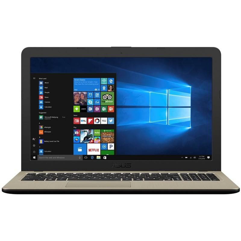 Notebook Asus VivoBook X540UB-DM350T (X540UB-DM350T) čierny/zlatý Software F-Secure SAFE, 3 zařízení / 6 měsíců (zdarma) + Doprava zadarmo