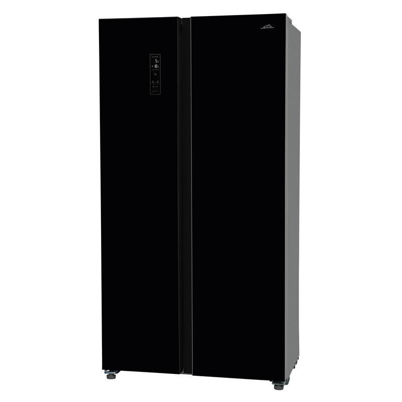 Americká chladnička ETA 138990020 čierna + Doprava zadarmo
