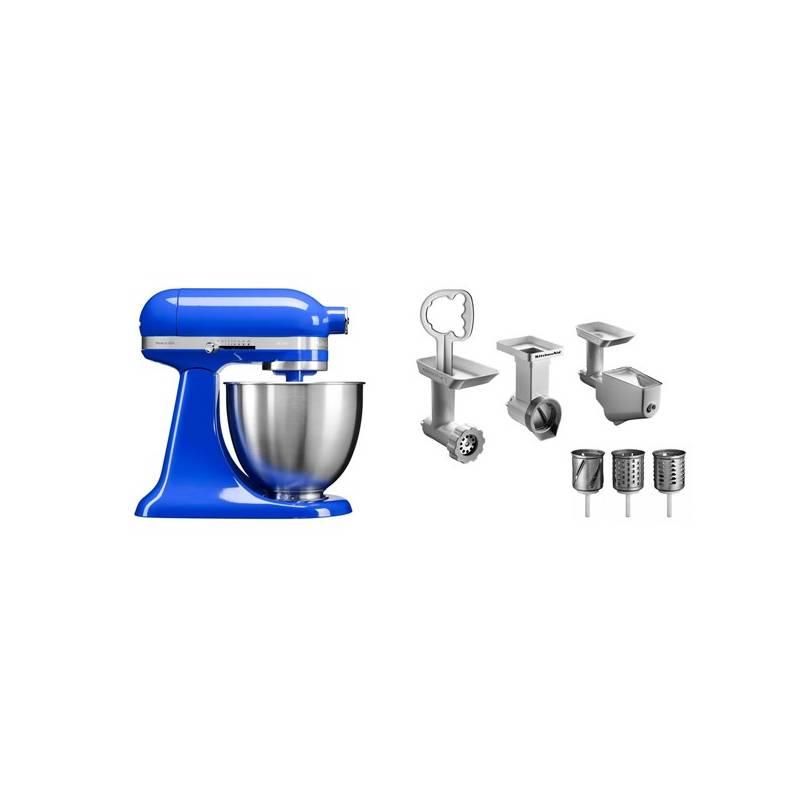 Set KitchenAid - kuchyňský robot 5KSM3311XETB + FPPC balíček s příslušenstvím + Doprava zadarmo