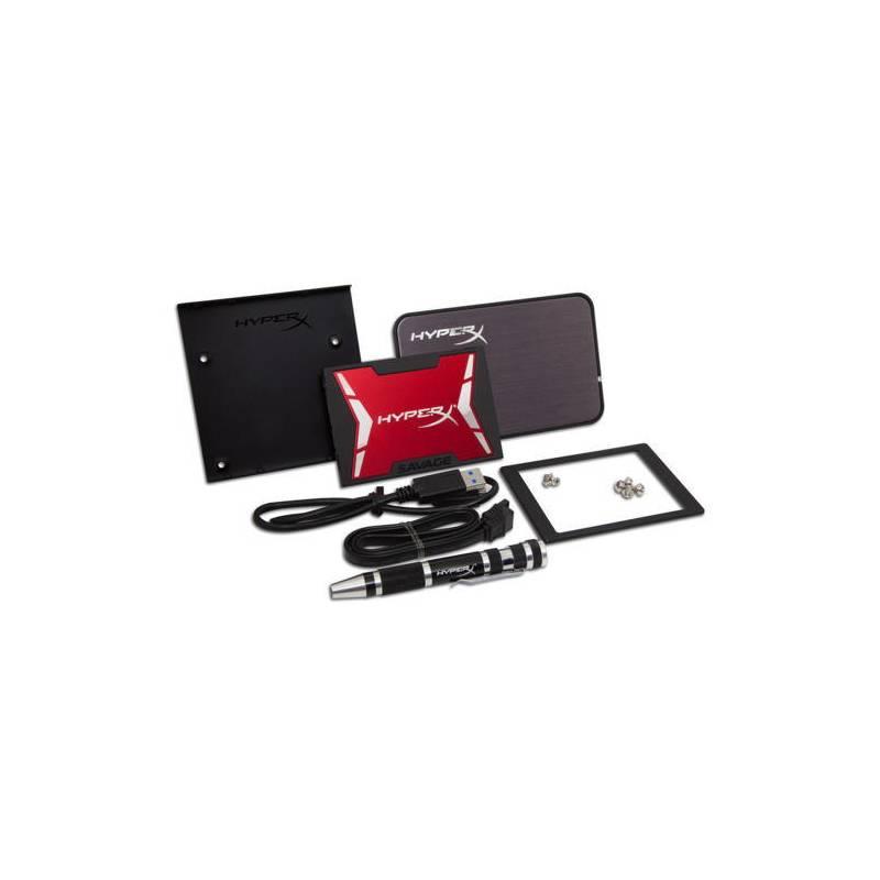 SSD Kingston HyperX Savage 960GB SATA III (7mm) Kit (SHSS3B7A/960G) + Doprava zadarmo