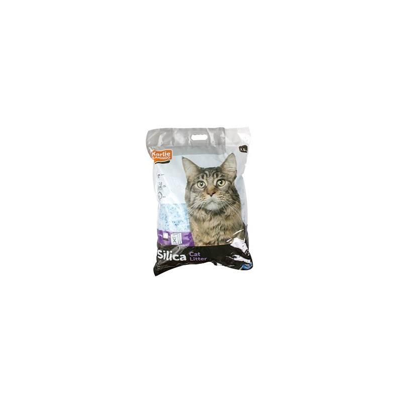 Podstielka Karlie pre mačky kremeň 7,5 kg