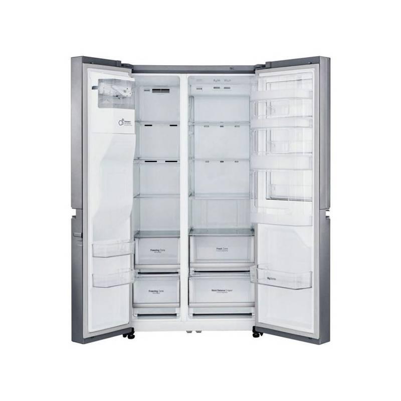 Kombinácia chladničky s mrazničkou LG GSJ760PZUZ nerez + Doprava zadarmo