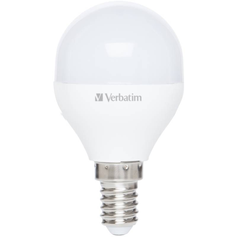 LED žiarovka Verbatim E14, 4,5 W, teplá bílá 2700K (52641)