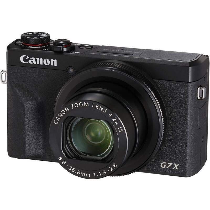 Digitálny fotoaparát Canon PowerShot G7X Mark III čierny + Doprava zadarmo