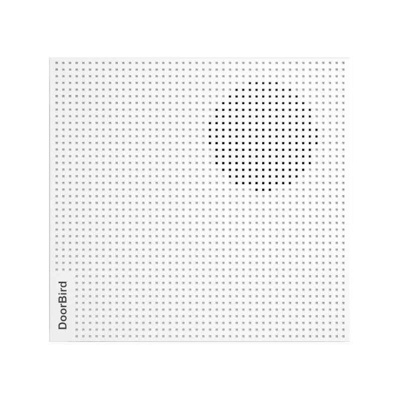 Zvonček DoorBird IP dveřní zvonek A1061W (DB-DOOR-CHIME-WH) biely