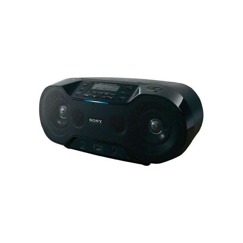 Rádiomagnetofón s CD Sony ZS-RS70BTB čierny + Doprava zadarmo
