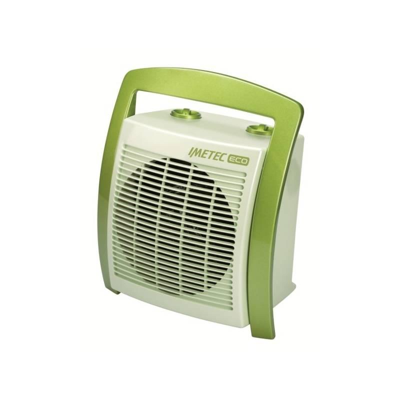 Teplovzdušný ventilátor Imetec 4926 biely/zelený
