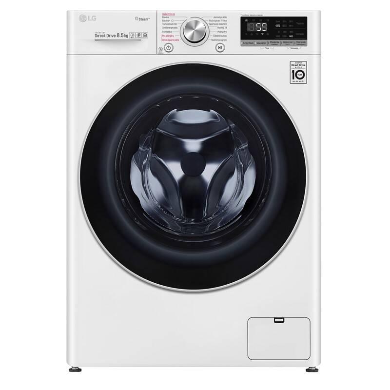 Práčka LG F4WN708S1 biela farba + Extra zľava 10 % | kód 10HOR2020 + Doprava zadarmo