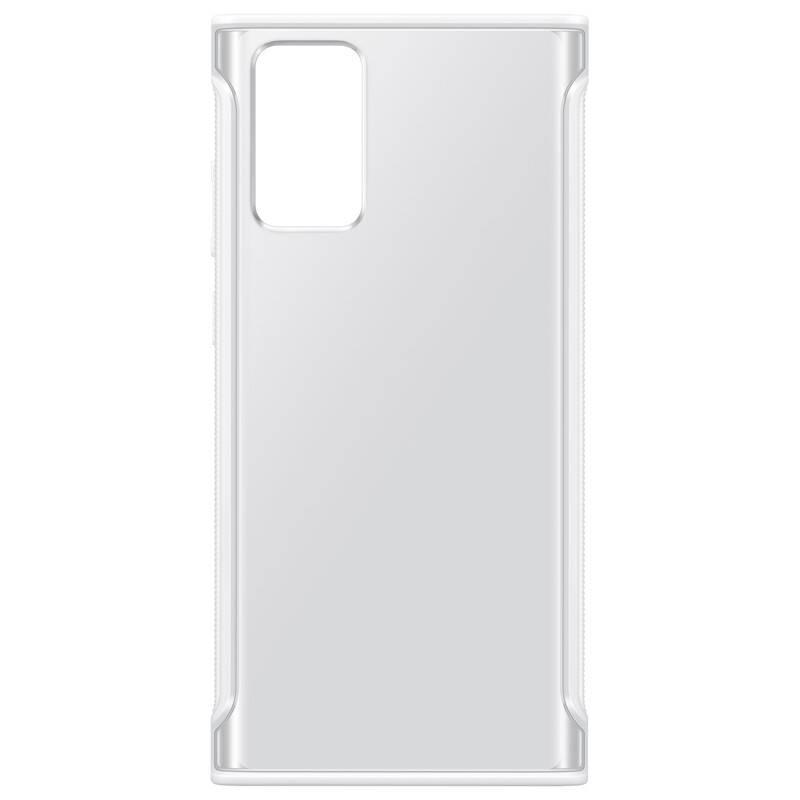 Kryt na mobil Samsung Galaxy Note20 (EF-GN980CWEGEU) biely/priehľadný