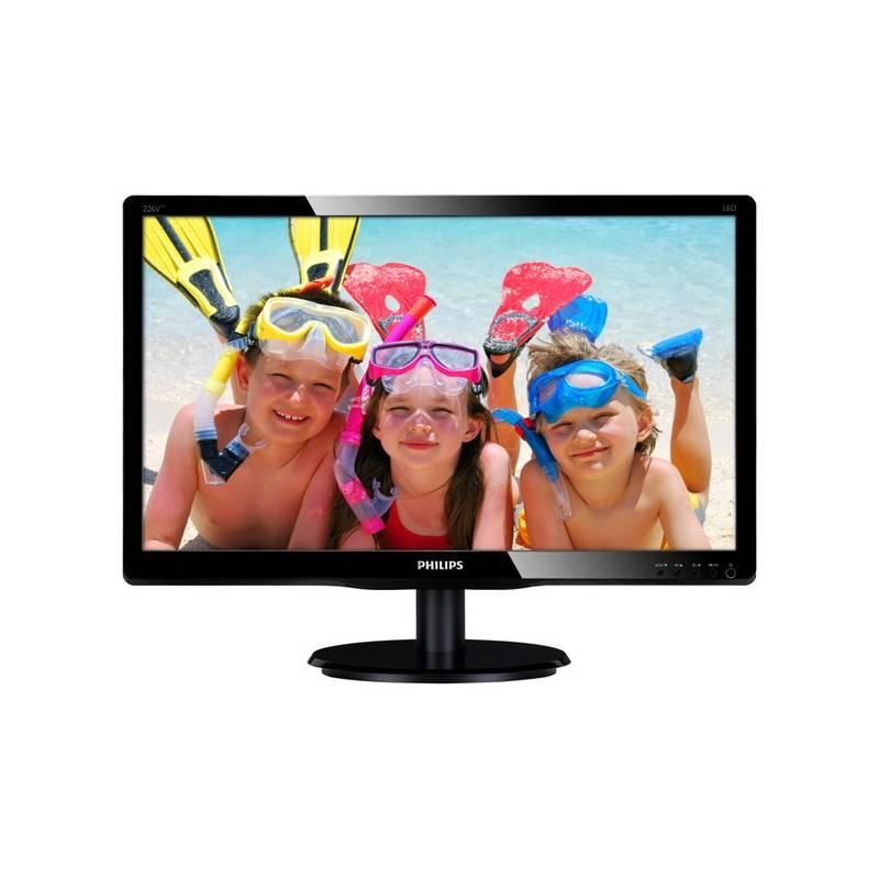 Monitor Philips 226V4LAB/00 (226V4LAB/00) čierny