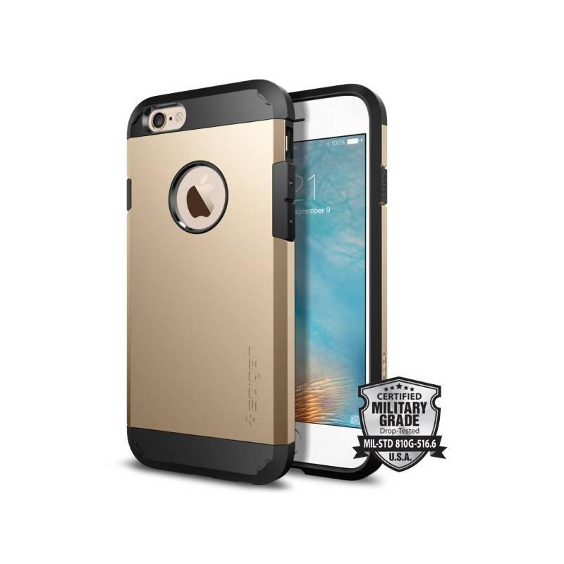 Kryt na mobil Spigen Tough Armor pro Apple iPhone 6/6s - champagne gold (SGP11613)