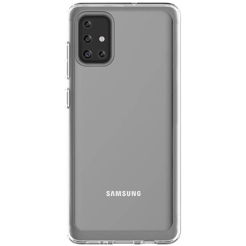 Kryt na mobil Samsung na Galaxy A71 (GP-FPA715KDATW) priehľadný