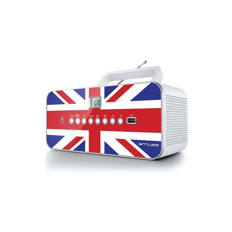 Rádioprijímač s CD MUSE M-28 UK