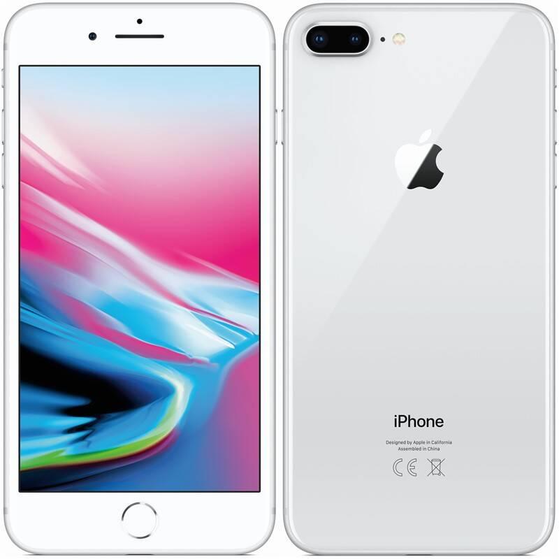 Mobilný telefón Apple iPhone 8 Plus 64 GB - Silver (MQ8M2CN/A)