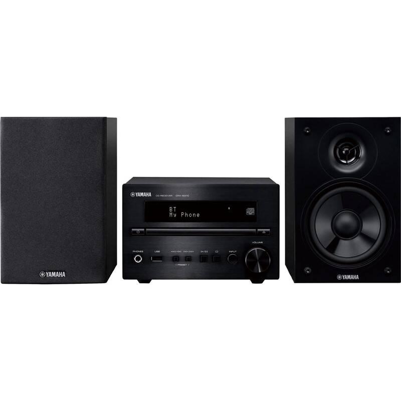 Mikro HiFi systém Yamaha MCR-B370D čierny + Extra zľava 10 % | kód 10HOR2020