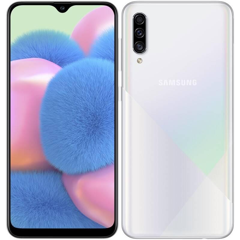 Mobilný telefón Samsung Galaxy A30s Dual SIM (SM-A307FZWVXEZ) biely
