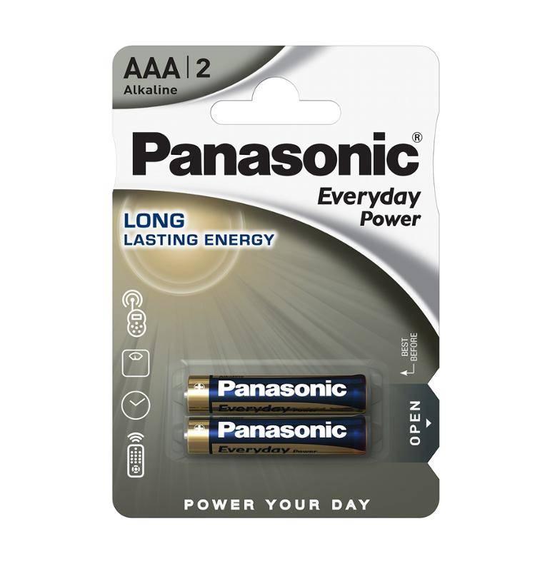 Batéria alkalická Panasonic Everyday Power, AAA, 2 ks (115000)