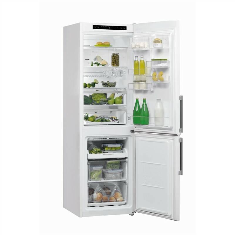 Kombinácia chladničky s mrazničkou Whirlpool W Collection W7 831A W H biela + Doprava zadarmo