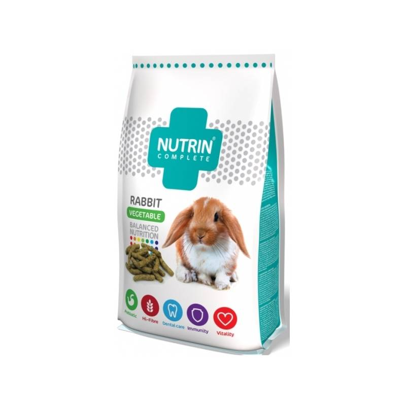 Krmivo Darwin's Nutrin Complete Vegetable Králik 400 g