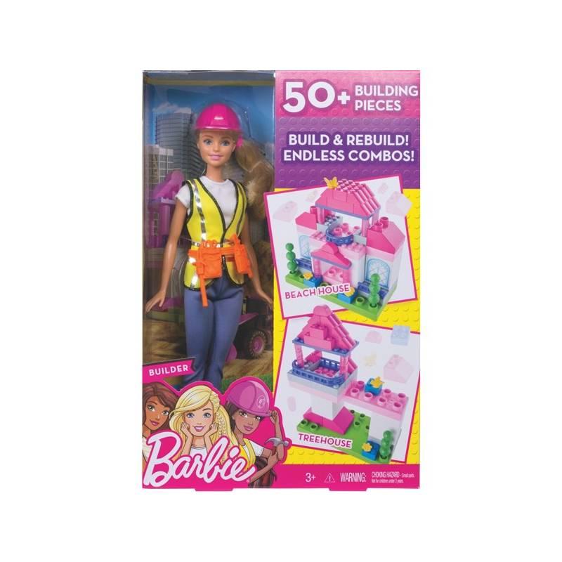Barbie Mattel stavitelka hrací set