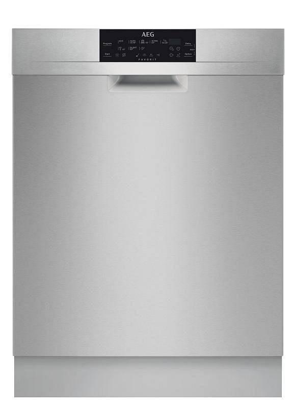 Umývačka riadu AEG Mastery FFB83730PM nerez + Cashback 60 € + Doprava zadarmo