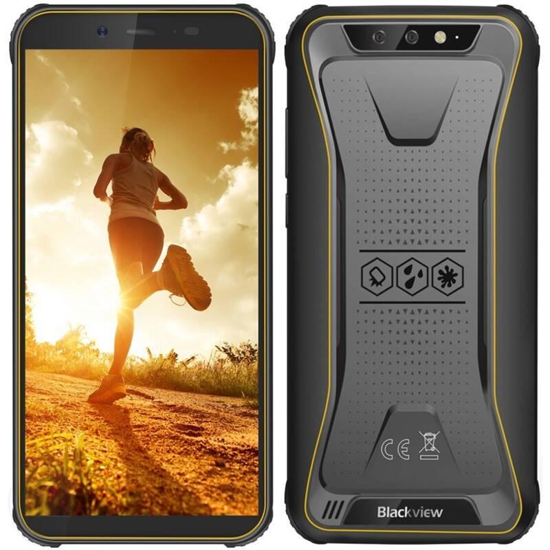 Mobilný telefón iGET BLACKVIEW GBV5500 Pro (84001733 ) žltý