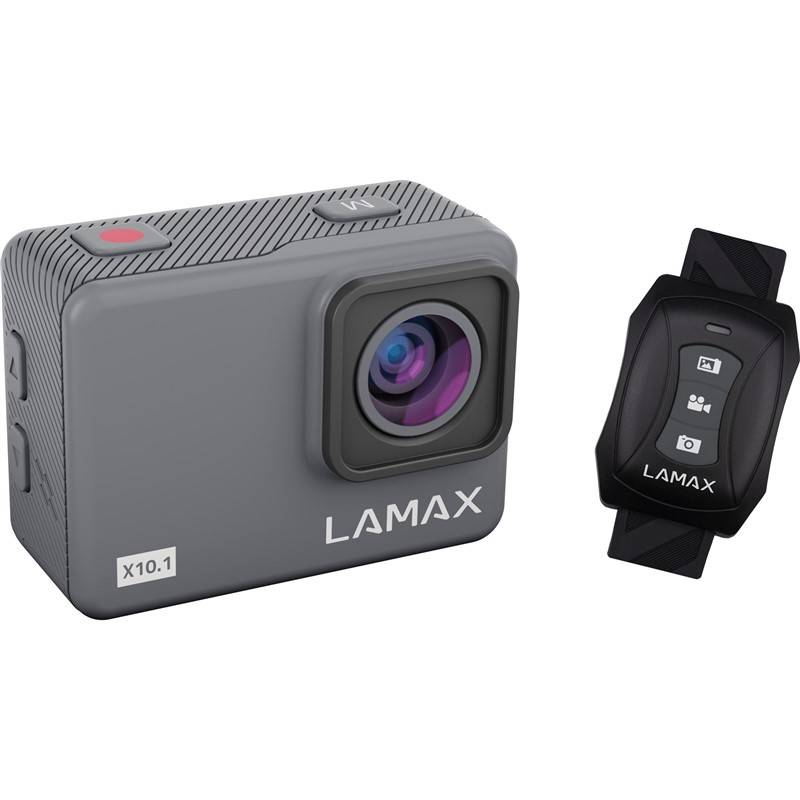 Outdoorová kamera LAMAX X10.1 šedá