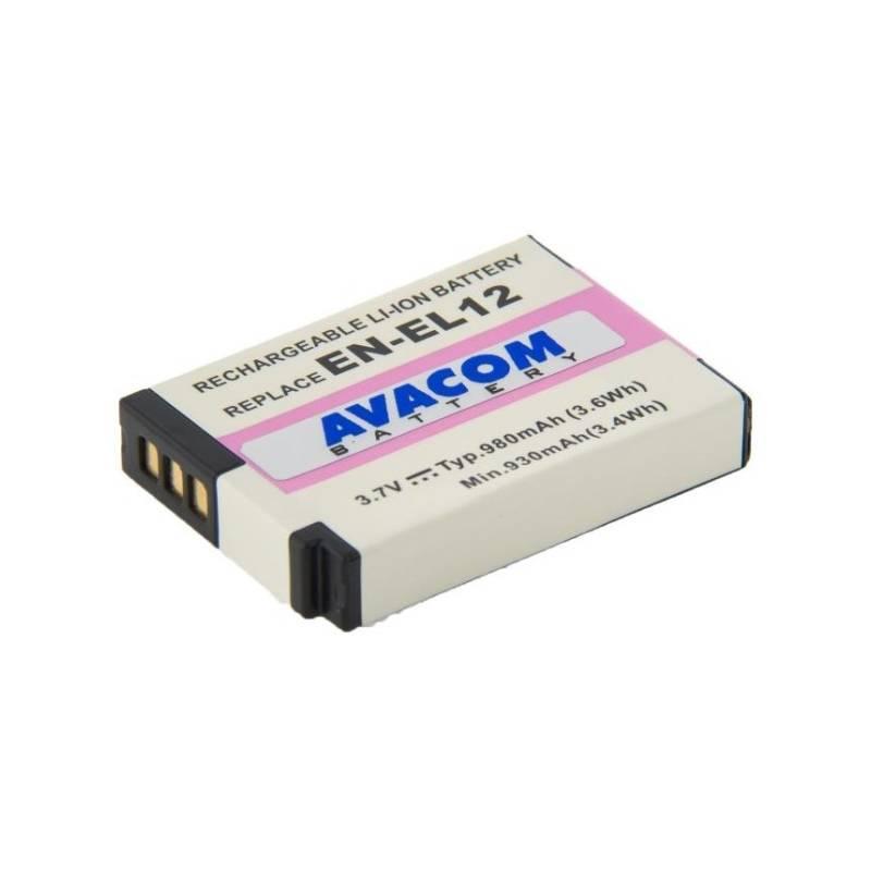 Baterie Avacom Nikon EN-EL12 Li-ion 3,7V 980mAh (DINI-EL12-734)