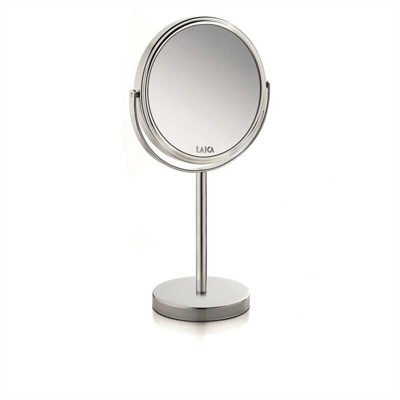 Kosmetické zrcátko Laica PC5003 stříbrná barva