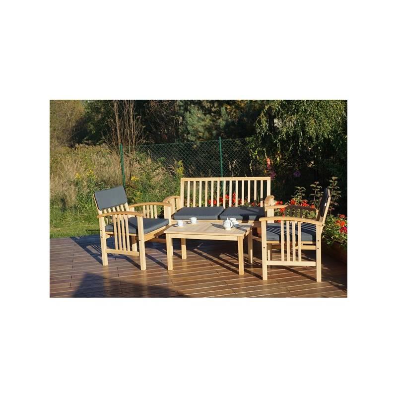 Záhradný nábytok Rojaplast Safari drevený