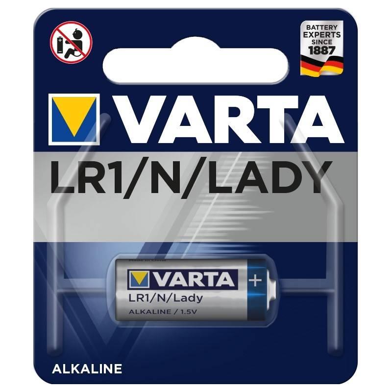 Batéria alkalická Varta LR1, blistr 1ks (4001112401)
