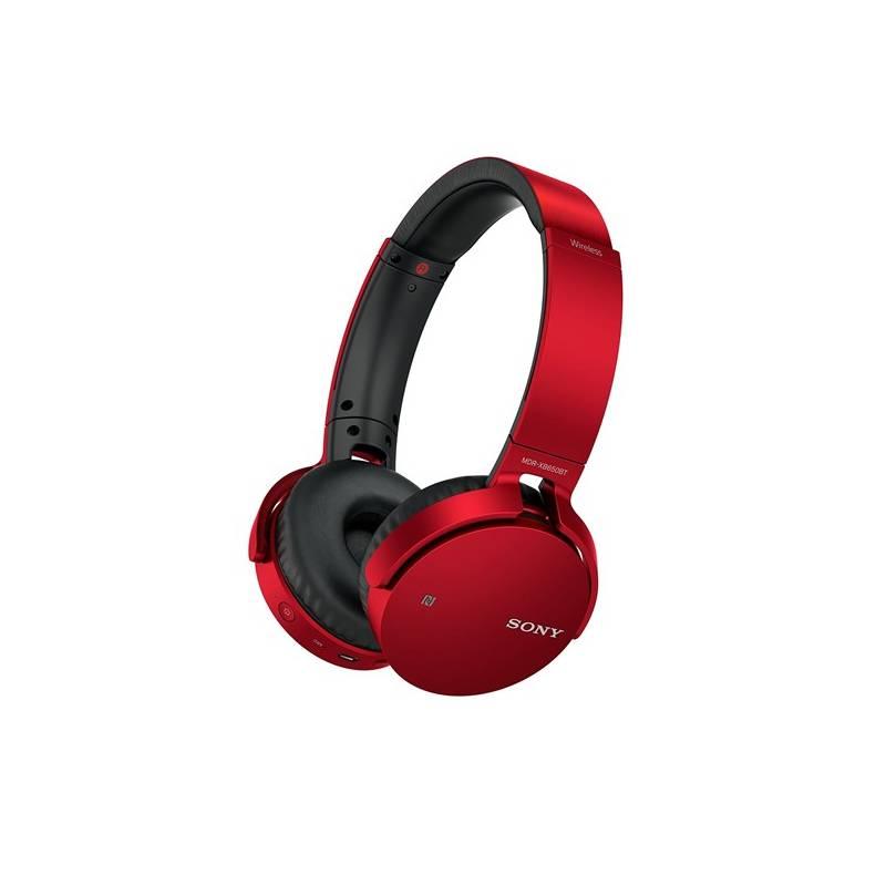 Slúchadlá Sony MDR-XB650BT (MDRXB650BTR.CE7) červená
