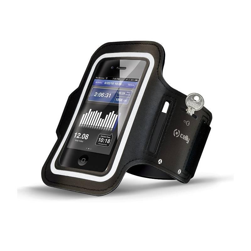 Puzdro na mobil športové Celly Armband XXL (ARMBAND01) čierne