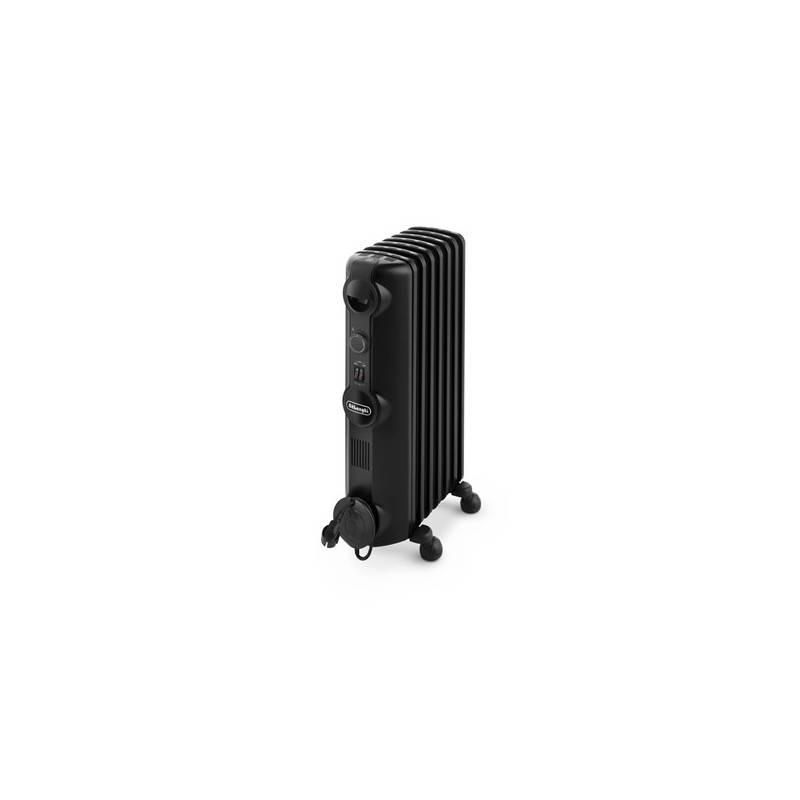 Olejový radiátor DeLonghi Radia-S TRRS0715.B čierny
