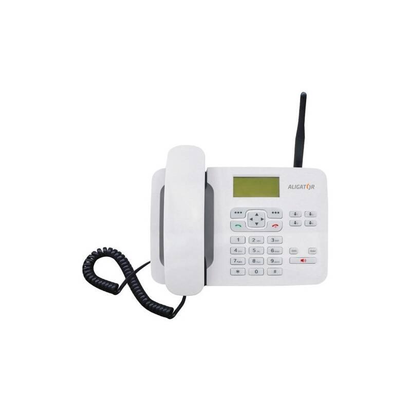 Domáci telefón Aligator T100 (stolní) (AT100W) biely