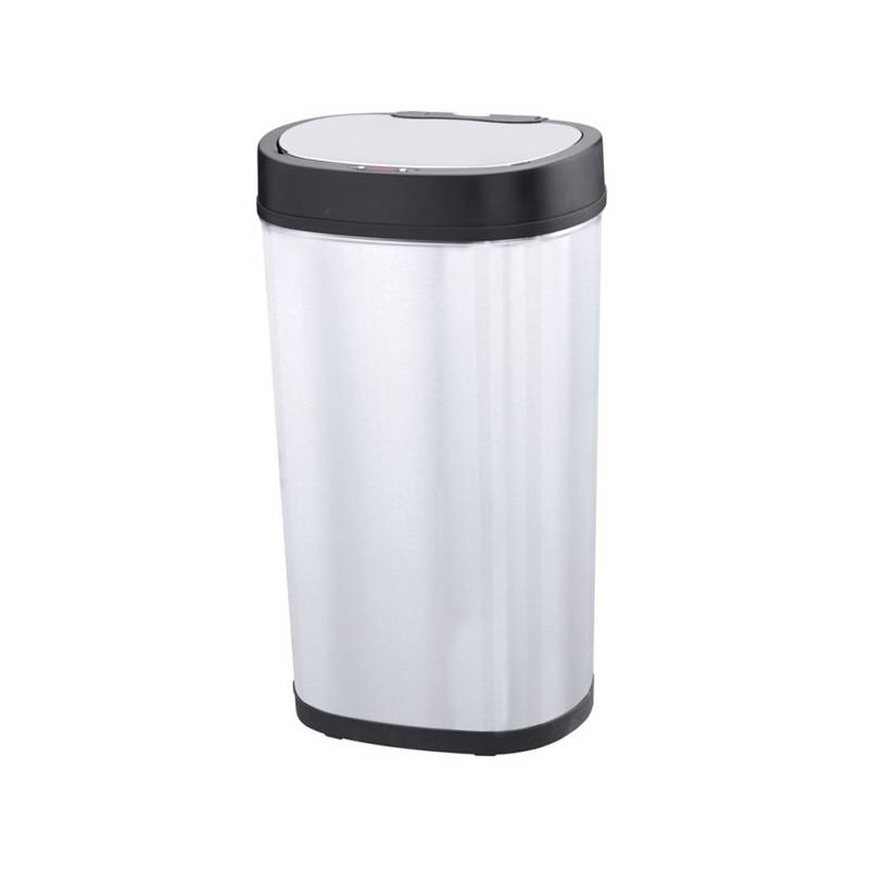 Bezdotykový odpadkový kôš Helpmation DELUXE 50 l nerez + Doprava zadarmo