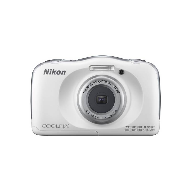Digitálny fotoaparát Nikon Coolpix W100 BACKPACK KIT (VQA010K001) biely