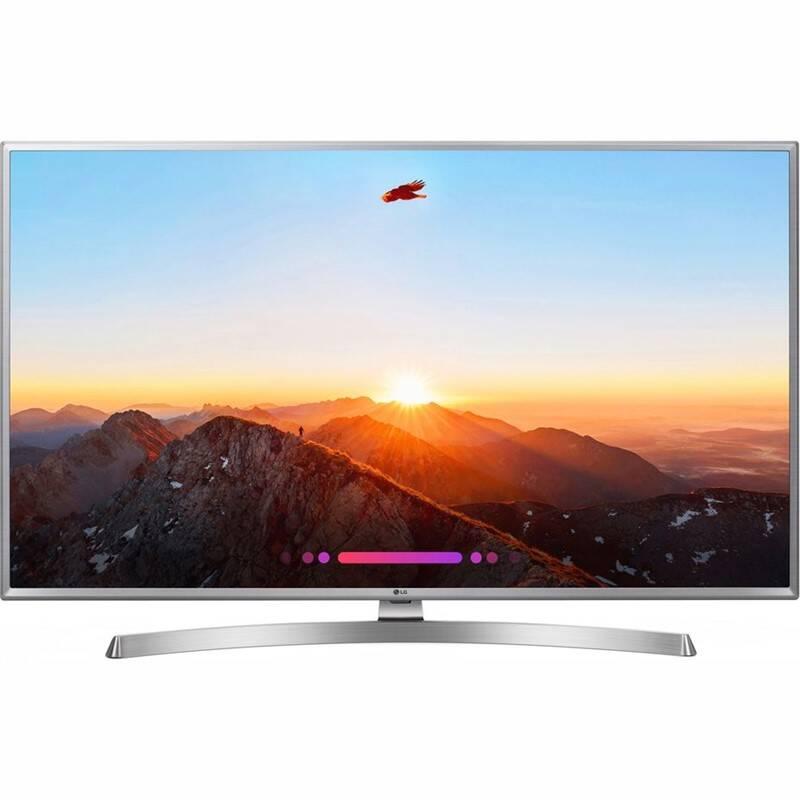 Televize LG 43UK6950 stříbrná