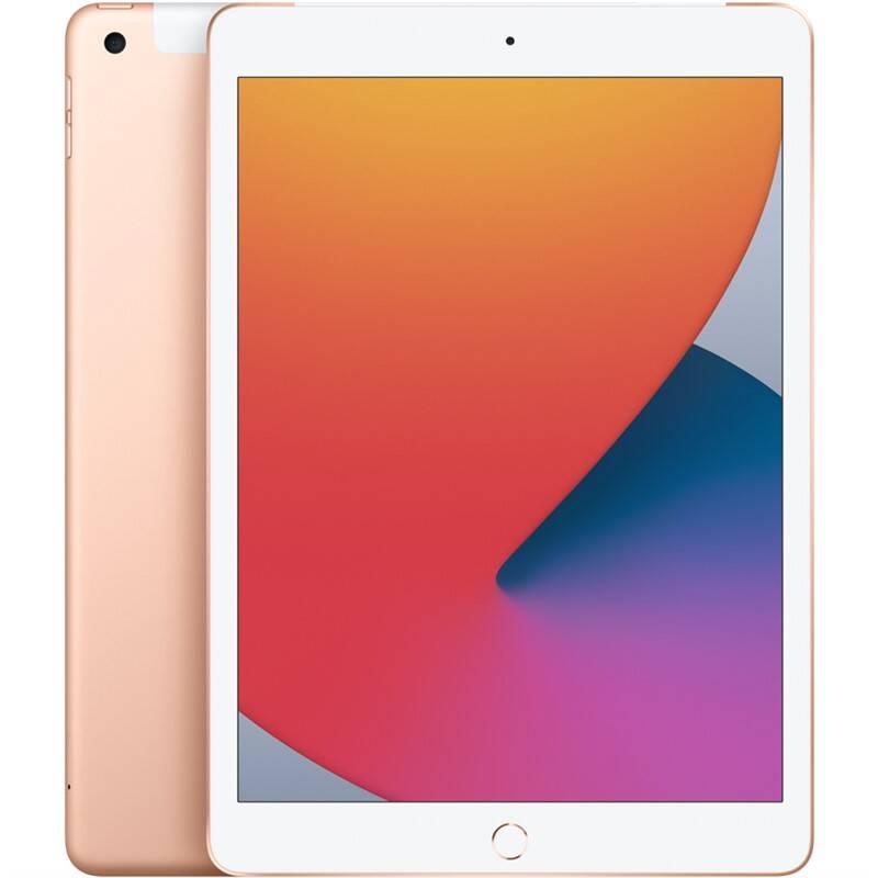 Tablet Apple iPad (2020) Wi-Fi + Cellular 32GB - Gold (MYMK2FD/A) + Doprava zadarmo