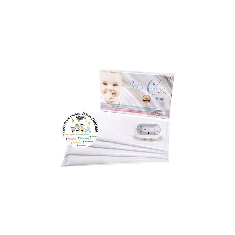 Monitor dychu Baby Control pro dvojčata Digital BC-230i biela