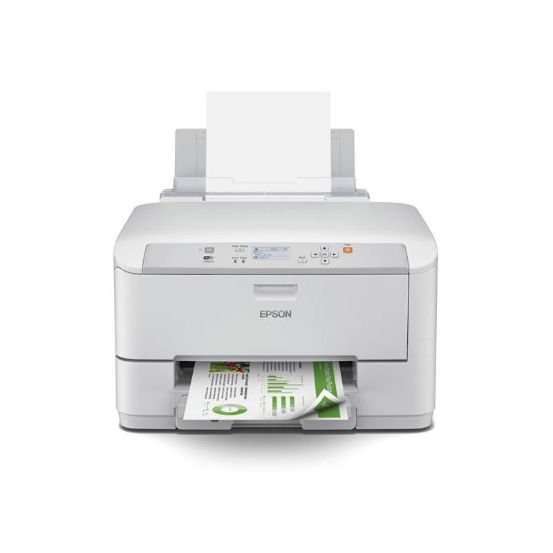 Tlačiareň atramentová Epson WorkForce PRO WF-5190DW (C11CD15301) biela Cartridge Epson Black 79XL DURABrite Ultra Ink (zdarma) + Doprava zadarmo