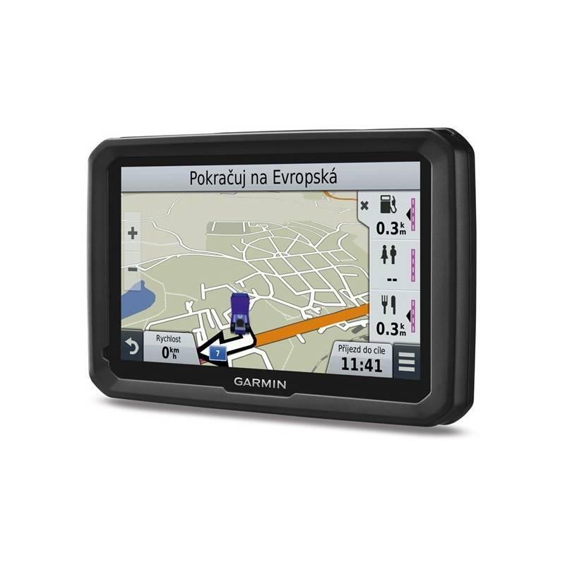 Navigačný systém GPS Garmin dezl 570T Lifetime Europe45 čierna + Doprava zadarmo