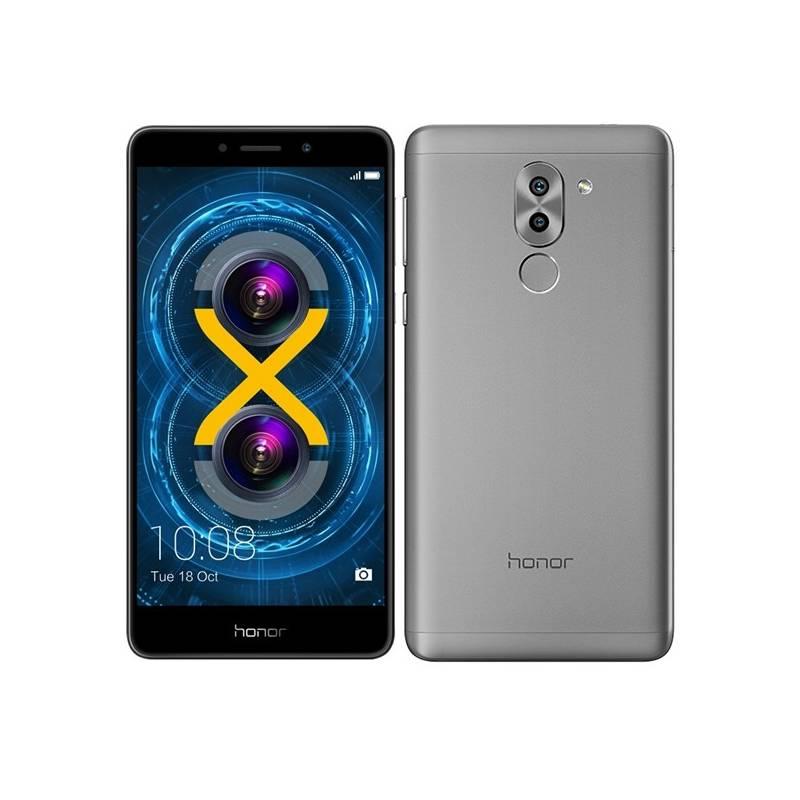 Mobilný telefón Honor 6x (51091CFG) sivý