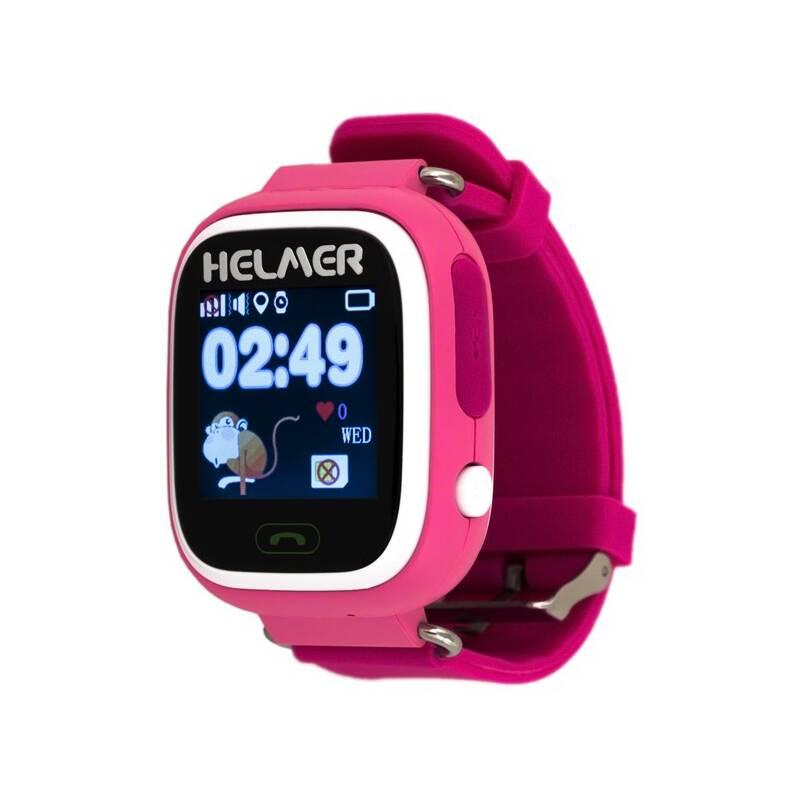 Chytré hodinky Helmer LK 703 dětské (Helmer LK 703 P) ružový