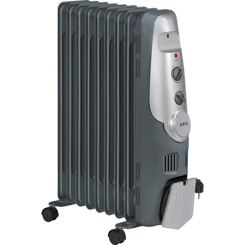 Olejový radiátor AEG RA 5521 sivý