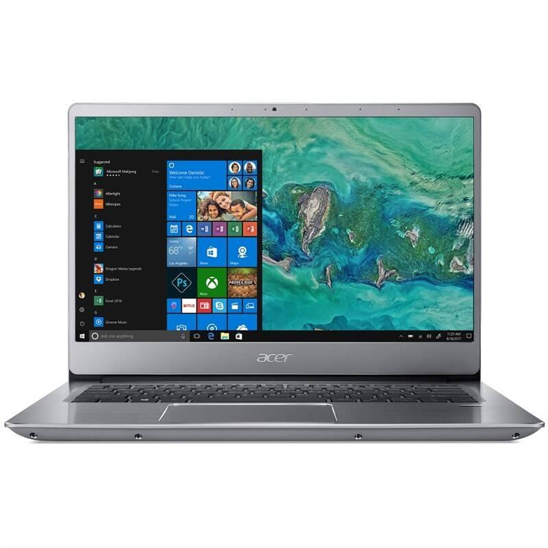 Notebook Acer Swift 3 (SF314-56G-55A7) (NX.HAQEC.005) stříbrný