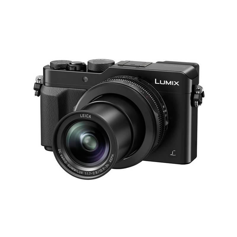 Digitálny fotoaparát Panasonic DMC-LX100EPK čierny + Doprava zadarmo