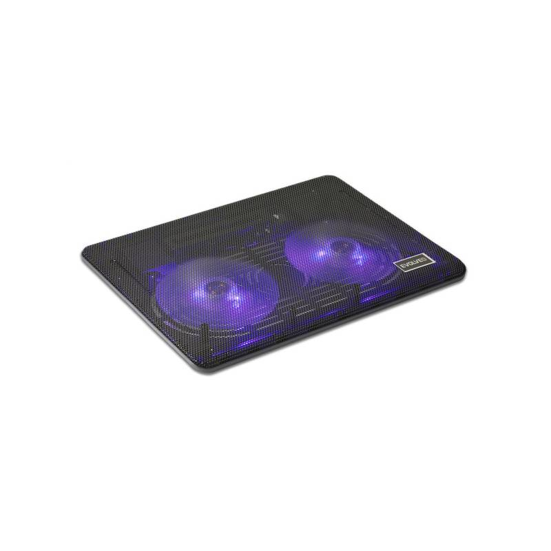"""Chladiaca podložka pre notebooky Evolveo 007 pro 14"""" - 15,6"""" (DCX-007) čierna"""
